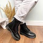 Женские зимние ботинки черного цвета, эко кожа 40 41 ПОСЛЕДНИЕ РАЗМЕРЫ, фото 4
