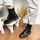Женские зимние ботинки черного цвета, эко кожа 40 41 ПОСЛЕДНИЕ РАЗМЕРЫ, фото 6