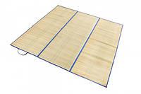 Пляжный коврик соломенный с отражателем Anty размер S 165*90 см