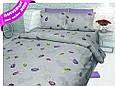 Постільна білизна двоспальне FEATHERS бавовна ,розмір 175*215, купити оптом зі складу 7км Одеса, фото 2