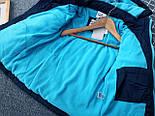 Брендовий куртка тепла на синтепоні і флісі для хлопчика осінь-весна Topolino 110 см, фото 2