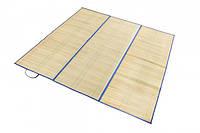 Коврик для пляжа соломенный с отражателем Серебряный Дождь размер XL 165*150 см