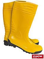 Сапоги шахтерские желтые