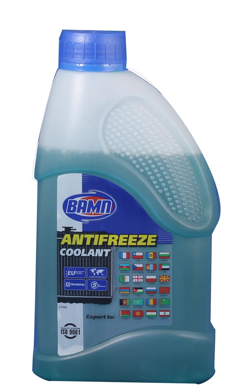 Охлаждающая жидкость Вамп Антифриз-40 синий 1л