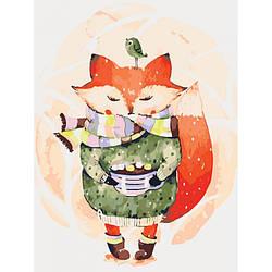 Картина по номерам Кофе с зефирками, 30x40 см., Идейка