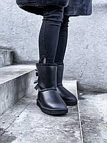 Угги женские в стиле UGG Australia Bailey Bow II Black, фото 3