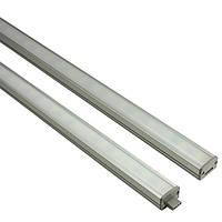 Точечный светильник // Lumine / светодиодный / прямоугольный / серый / P= 7.2W / белый холодный