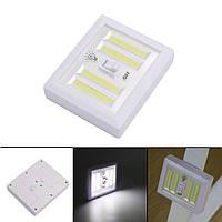 Светодиодный ночник выключатель с магнитами и липучкой 5W на батарейках