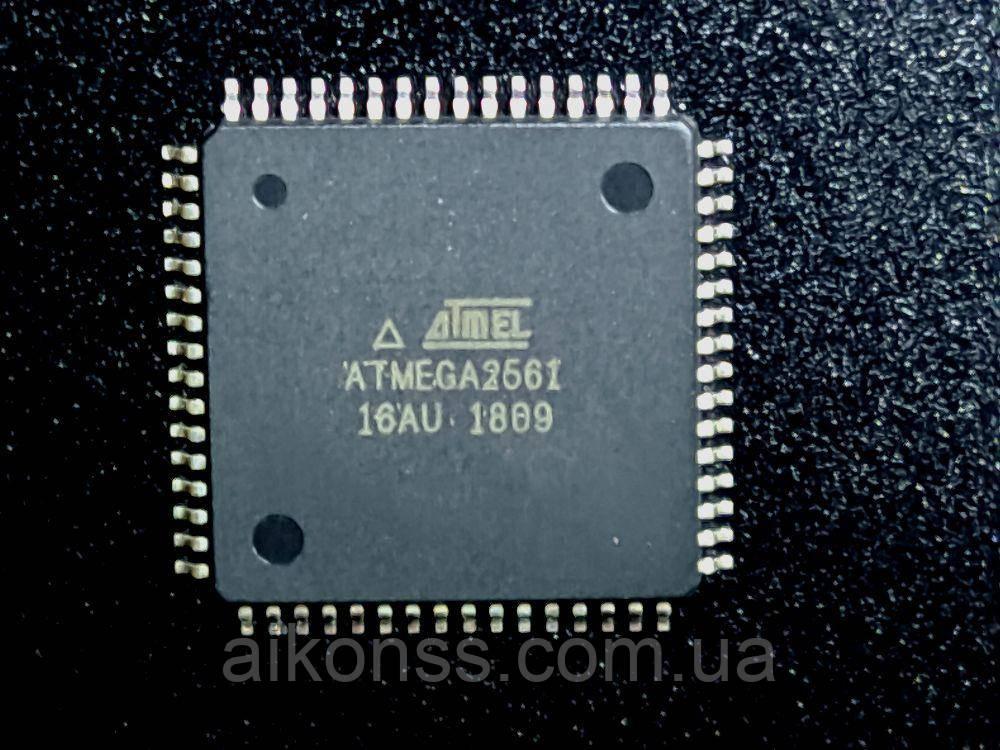MCU ATMEGA2561-16AU ATmega2561 16 МГц 256 КБ QFP64 новый оригинальный ATMEL AVR