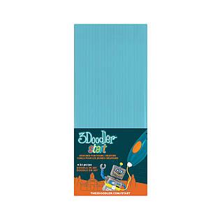 Набор стержней для 3D-ручки 3Doodler Start (голубой, 24 шт)