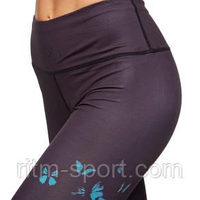 Жіночі спортивні чорні з малюнком, фото 2