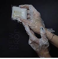 Перчатки с кремовой эмульсией для маникюра