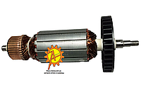 Якорь болгарки Интерскол УШМ - 180/1800 М ;DWT WS-180DL/1800 ( 203*49/ посадка 9 мм ), фото 1