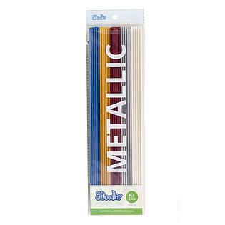 Набор стержней из PLA-пластика для проф. исп. с 3Doodler Create - МЕТАЛЛИК (25 шт, металлик)