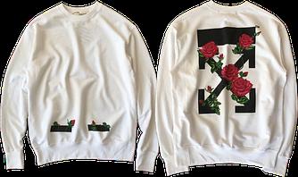 Оригинальная толстовка свитшот / Men's sweatshirt Off-White (SS 2019)