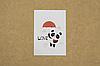 """Мини-открытка 040. 95*65 мм """"Love"""""""
