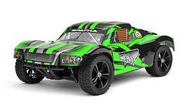 Радиоуправляемая модель Шорт 1:10 Himoto Spatha E10SC Brushed (зеленый)