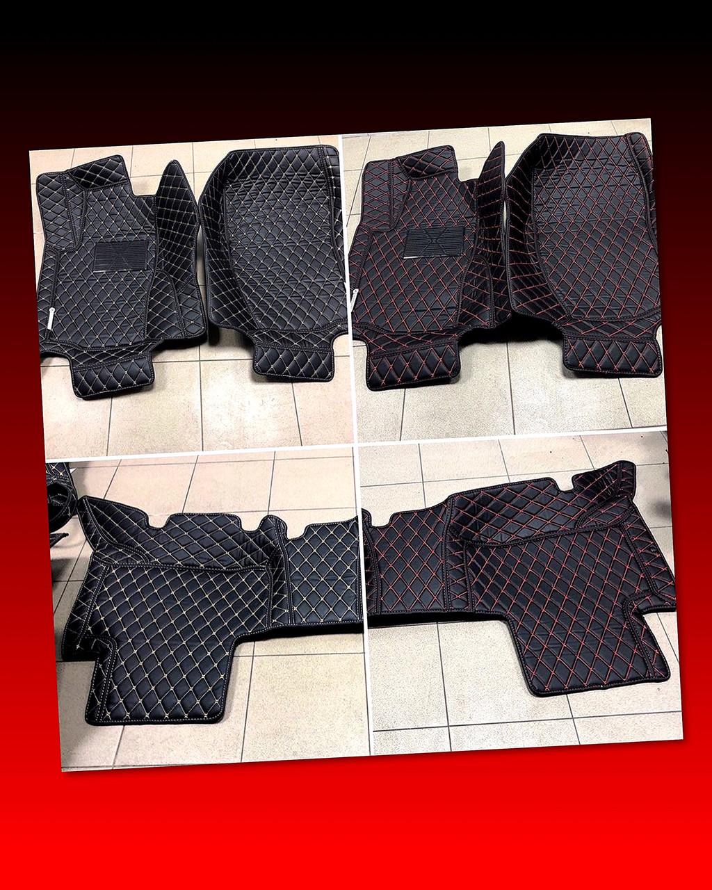 Комплект ковриков из экокожи для Mercedes ML W166, W164