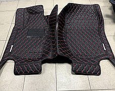 Комплект ковриков из экокожи для Mercedes ML W166, W164, фото 2