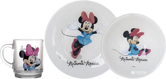 Disney Minnie Colors Набор для детей - 3 пр Luminarc L2120