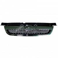 Решетка радиатора Chevrolet Aveo -3 хром (без эмблемы) 96648621, JH01-AVO07-007C EuroEx
