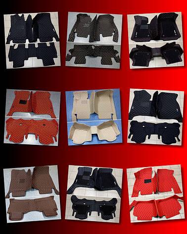 Комплект ковриков для Toyota Prado 150, от 2016 года, 5/7 мест, фото 2