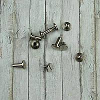Болты, винты М3 серебро 7*10мм. Для кольцевых механизмов, 2шт