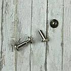 Болты, винты М3 серебро 7*10мм. Для кольцевых механизмов, 2шт, фото 2