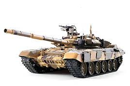 Танк на радиоуправлении 1:16 Heng Long T-90 с пневмопушкой и и/к боем (Upgrade)