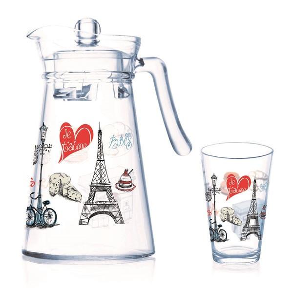 Neo Love Paris Florero Набор для воды - 7 пр. Luminarc P9813