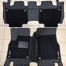 Комплект ковриков для Toyota Prado 150, на 5/7 мест, фото 2
