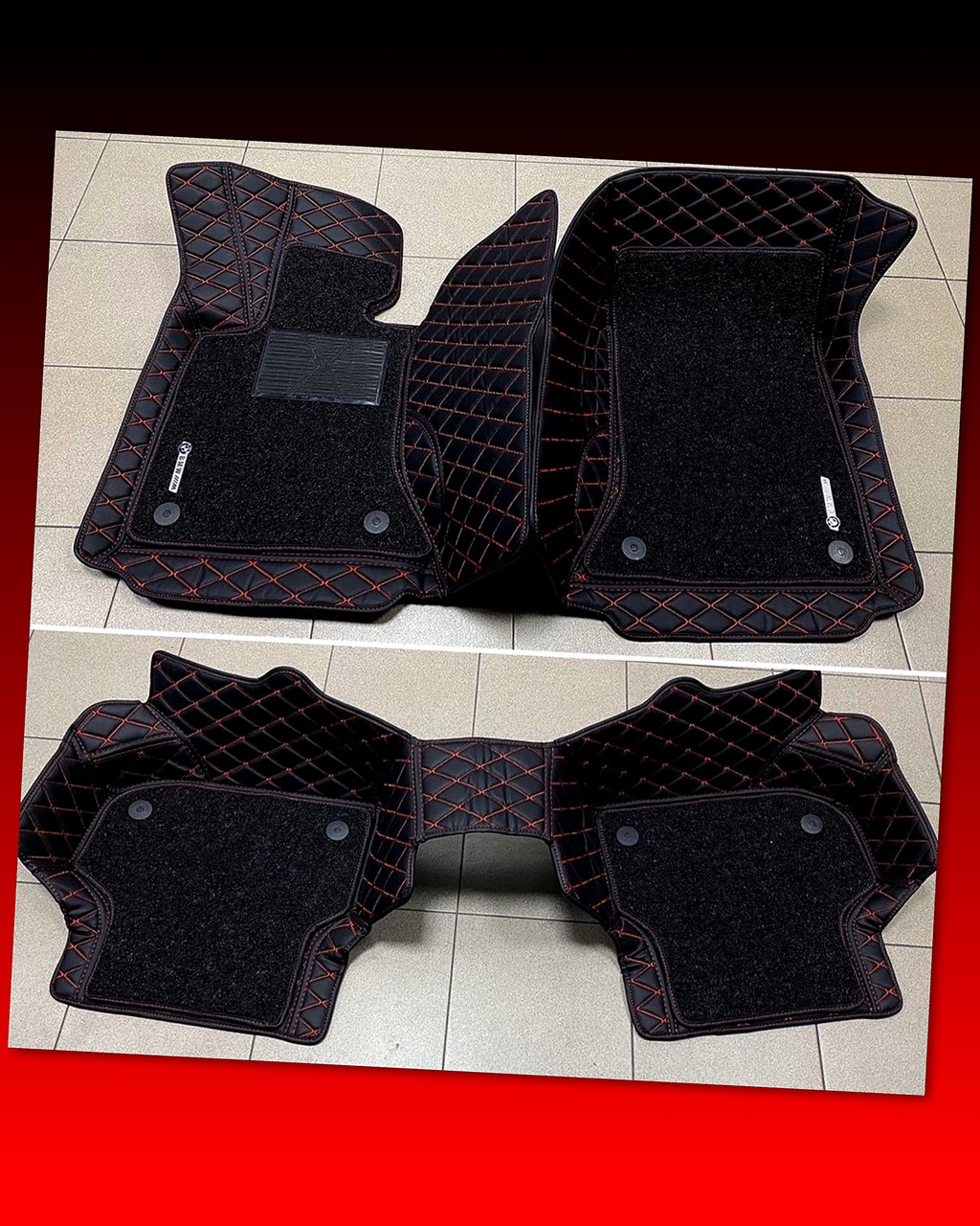 Комплект ковриков из экокожи для Bmw 5 series F10