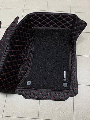 Комплект ковриков из экокожи для Bmw 5 series F10, фото 2