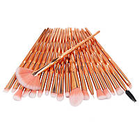 Набор профессиональных кистей для макияжа UNICORN MakeUp Brush Set, 20 шт.