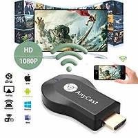 Медиаплеер Miracast AnyCast M9 Plus с встроенным Wi-Fi модулем для iOS/Android
