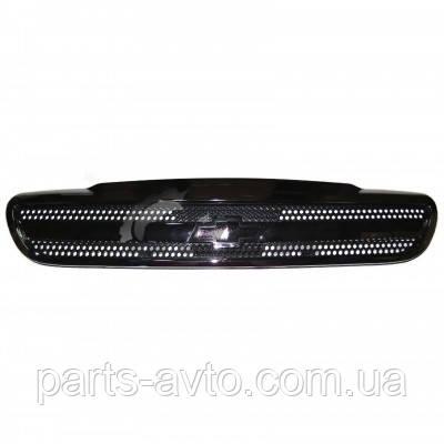 Решітка радіатора CHEVROLET LANOS (без емблеми) EuroEx 96303229, JH01-LNS96-007C