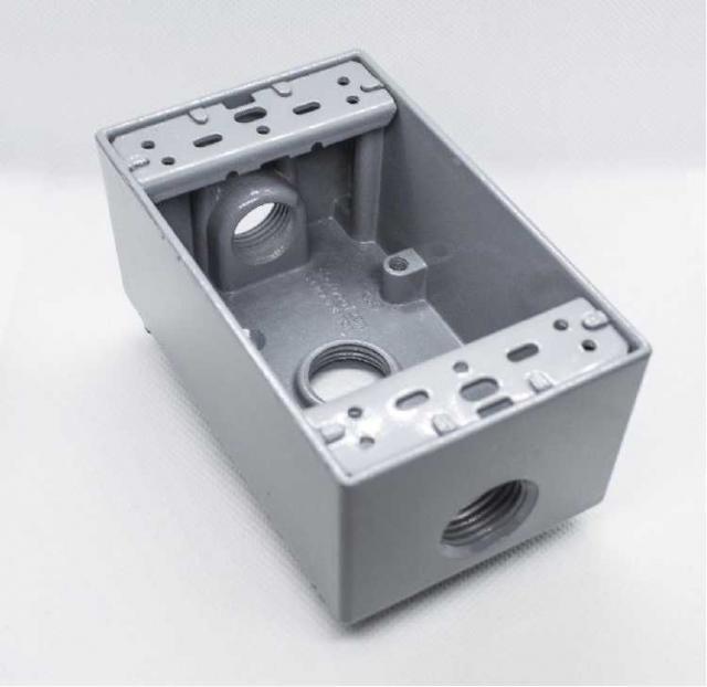 Металлическая монтажная коробка Silngle Gang для считывателей FR1500