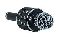 Беспроводной микрофон-караоке bluetooth WS-858(коробка) черные