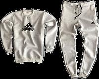Трикотажный костюм adidas (Premium-class) серый