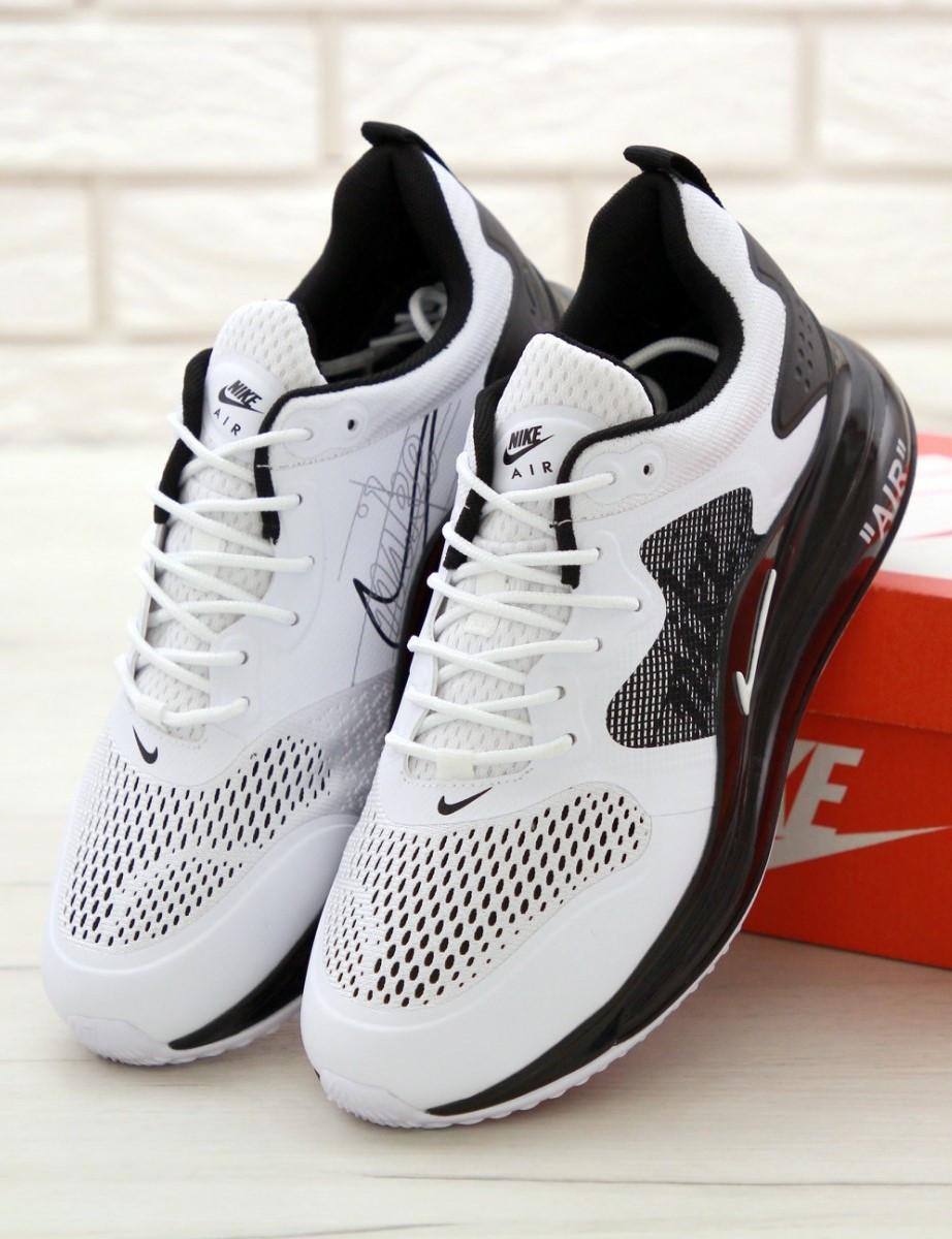Мужские кроссовки Nike Air Max 720 White, Найк Аир Макс 720 белые