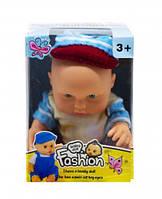 Кукла - Пупс (в бордовом) 3366
