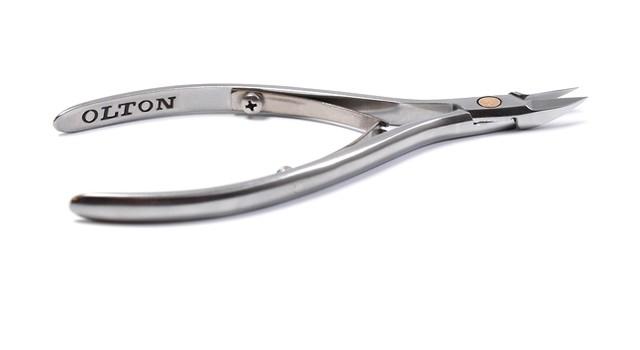 Кусачки ногтевые OLTON  XS