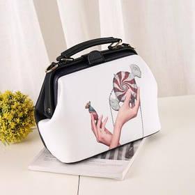Ультрамодна жіноча сумка ридикюль стиль кежуал SA-5