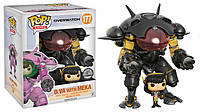Фигурка Funko Pop Фанко Поп Overwatch D.va with Meka Овервотч Дива с Мекой  15см 177OW