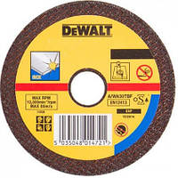 Круг отрезной DeWALT INOX 230х2.8х22.23 мм по металлу (DT3449-QZ)