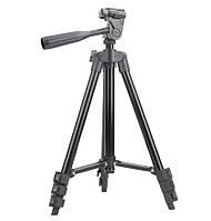 Штатив Трипод для Фотоапарата 3120A Black з Рівнем, фото 1