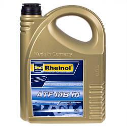 Трансмиссионное масло Rheinol, ATF MB III, 5л (ATF MB III)
