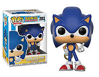 Фигурка Funko Pop Ёж Соник с кольцом Games Sonic The Hedgehog 10см  283