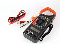 Цифровой мультиметр DT 266FT Токовые клещи мультитестер, тестер (1011)