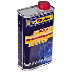 Тормозная жидкость Rheinol, DOT 4, 1л (DOT 4)